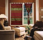 Silk Curtains For Living Room 210cm X 110cm