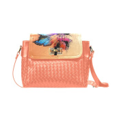 ADEDIY Colours by Nico Bielow Flap Woven Leather Crossbody Bag M1646