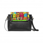 ADEDIY Papart by Nico Bielow Flap Woven Leather Crossbody Bag M1646