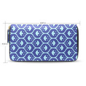 Womens Turkish Pattern Long Wallet Case with Card Holder