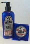 Col. Ichabod Conk Natural Santa Fe Cedar Aftershave Lotion 180ml Plus Soap