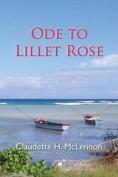 Ode to Lillet Rose