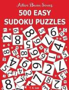 500 Easy Sudoku Puzzles