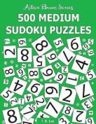 500 Medium Sudoku Puzzles