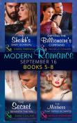 Modern Romance September 2016 Books 5-8