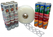 1000 Count Roll 6-Pack Rings Universal Fit - Fits all 350ml Beer Soda Cans