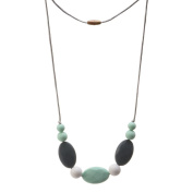 Blulu Silicone Teething Necklace for Mom to Wear