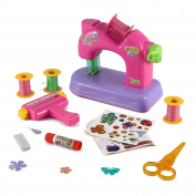 Deluxe Create-Your-Own Scrapbook Toy Sewing Machine Activity Centre