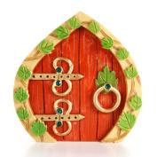 Resin Fairy Garden Door 3.75 x 3.875 x .950cm