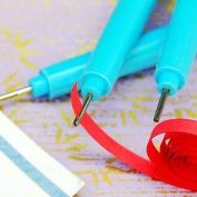 3PCS Volume Pen Quilling Paper DIY Tools(Random Colour)-HSE