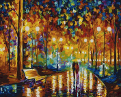 DIY Oil Painting - Walk in the Park