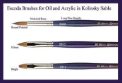 Escoda Kolinsky Brush Series 2410 Round 3×0
