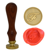 Wax Seal Stamp Sealing Wax Classic Initial Alphabet Retro Wood Z001