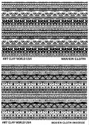 Flexistamps Texture Sheet Set Woven Cloth Designs (Including Woven Cloth and Woven Cloth Inverse)- 2 Pc.