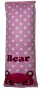 SuPoo® Car Seat Belt Pink Bear Cushion Headrest Pillow Harness Shoulder Pad Cover