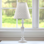 Carousel Designs French Grey Dot Lamp Shade