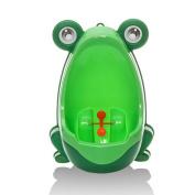 Kangnice Frog Children Potty Toilet Training Kids Urinal for Boys Pee Trainer Bathroom