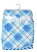 Snugly Baby Plaid Ultra Soft Plush Blanket