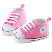 WAYLONGPLUS Infant Cute Canvas Sneaker Toddler Prewalker Anti-skid Soft Trainer Shoes