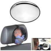 AUDEW Car Back Seat Mirror Safety Easy View Kid Child Baby Facing Rear Ward Adjustable
