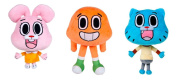 """""""The Amazing World of GUMBALL"""" Pack 3 Plush Toy of the TV Serial - The pack includes """"Darwin"""" (9""""/25cm), """"Gumball"""" (11""""/28cm), and """"Anaís"""" (8""""/21cm) - Quality Super Soft"""
