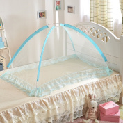 Bluestar Small Portable Mosquito Net Mongolia Package Cover Encryption can be Folded Baby Mosquito Net