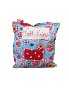Little Miss Muffit - Handmade Children's Tooth Fairy Pillow - Strawberries, Colour