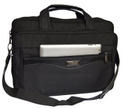 Modetreff Men's Shoulder Bag Black BLACK XXL