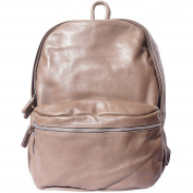 UNISEX BACKPACK WITH GENUINE COW LEATHER 7028