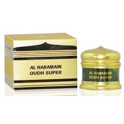 Oudh Super Home/Hallway/Room Fragrance/Burning Insence by Al Haramain 50g