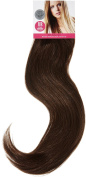 Love Hair Extensions Full Head Set Clip in Extensions, Mixed Dark Browns - Pack of 10