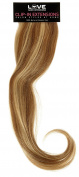 Love Hair Extensions Deluxe Human Hair Clip In Extension, Mixed Caramel/Blonde 35 g