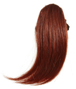 Love Hair Extensions Heat Resistant Thermo Fibre Side Fringe, Colour 35 Rich Copper
