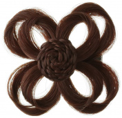 Love Hair Extensions Clip In Flower Hair Accessory, Colour 33 Copper