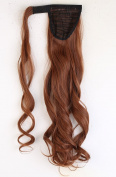 """Hot Fashion Wrap Around Ponytail 17""""/43cm Clip in Hair Extensions Light Auburn"""
