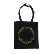 Lord of the Rings The One Ring Tote Cotton Black