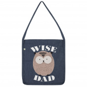 Wise Dad Owl Tote Bag
