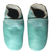 Didoodam - Soft Leather Baby Shoes - Peppermint