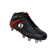 Katana Rugby Boots Junior [black/red]-UK 4
