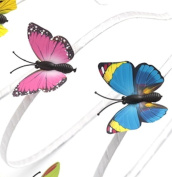 Pink Butterfly Hairband - 3D butterfly