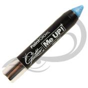 PaintGlow UV Neon Glitter Paint Stick, Ice Blue 3 g