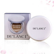 DE'LANCI Air Cushion BB Cream Concealer Moisturising Foundation With 1 Piece Makeup Air Puff and Extra Refill NO.1