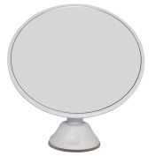 AlierKin Makeup Mirror with Adjustable Locking Suction Cup, 7x Magnification Mirror With 360 Degree Rotating for Optimal View Position