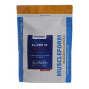 Muscleform Avi-Pro 94 Pure Whey Protein Isolate 94% 1kg Resealable Pouch - Fast Delivery - Banana
