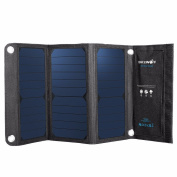 Yongse BlitzWolf® 20W 3A Foldable Portable SunPower Solar Cell USB Solar Panel Charger with Power3S for iPhone 6s / 6 / Plus, iPad Air / mini, Galaxy S6 and More