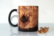 Harry Potter Marauder's Map Colour Changing Coffee Mug