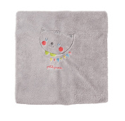 PETIT PRAIA Fruit Farm Soft Polar Blanket Breathable Fleece Embroidered with Application