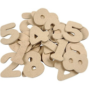 Wooden Numbers - Assortment, H