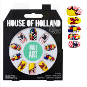 House Of Holland NAIL ART false Nails Plus Nail Glue Nail File fake nails