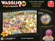 "Wasgij Original 24 - A Very Merry Holiday! - 1000 Piece Jigsaw Puzzle - ""NEW JUNE 2016"